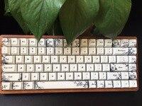 GK84 механическая клавиатура Bluetooth Cherry RGB mx коричневый скорость синий мини 84 подсветка игры Клавиатура красящая лента для возгонки PBT keycap