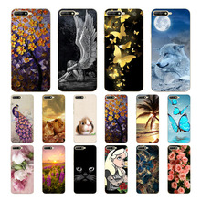Geruide For huawei Y6 2018 Case Cover,Fashionable Soft TPU Silicone Back Cover Cases Atu-L21 Cell Phone