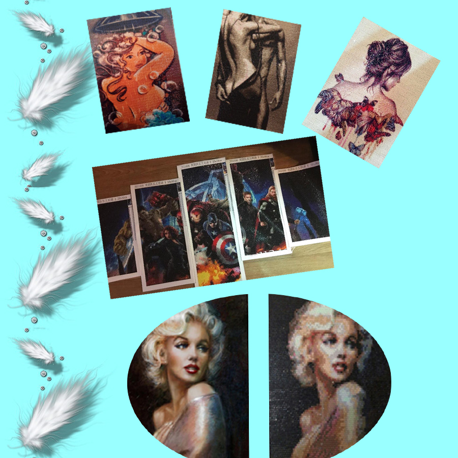 Penuh Berlian Bordir Jepang Wanita Potret 5d Diy Mainan Beauty Aksesoris Kecantikan Violella Set Tas Komplit 83017 002 003 004