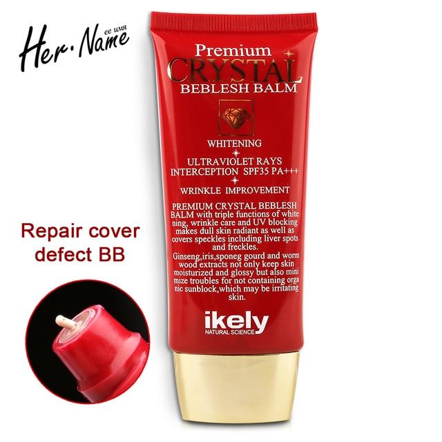 Новое поступление Женьшень bb крем макияж корректор косметические базы управления коррекции фонд крем отбеливание изоляции