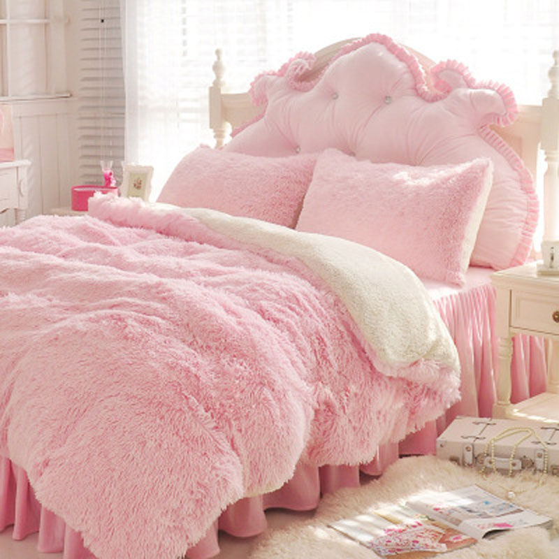 New Super Soft Long Shaggy Fuzzy Faux Fur White Pink Grey Blanket Warm Elegant Cozy Fluffy Sherpa Throw Bed Cover Bedspread