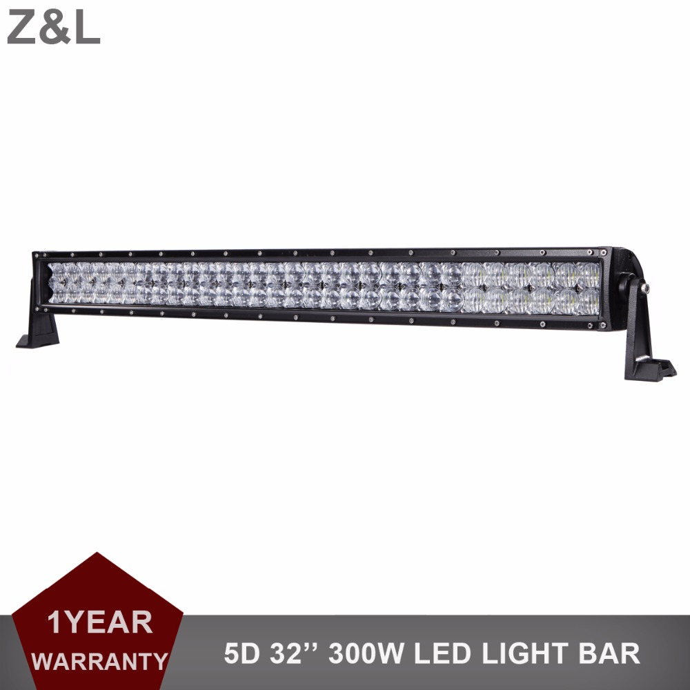300W Offroad LED Light Bar 5D Combo 12V 24V Driving Lamp Car SUV ATV UTE Boat Trailer Tractor Pickup 4WD 4X4 Truck AWD Headlight