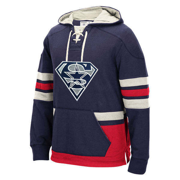 separation shoes 734b4 579c1 US $51.88 |Dallas Winter New Designs Men's Hoodies Cowboys Fans Superman S  Logo Style Stitching Sweatshirt Custom Any Name/Number Pullover-in Hoodies  ...