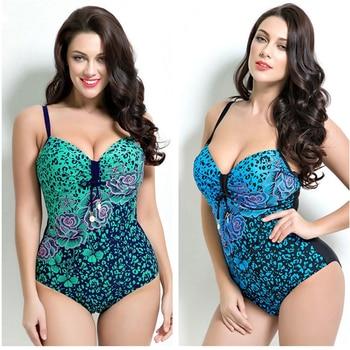 Plus Size One Piece Bather Swimwear