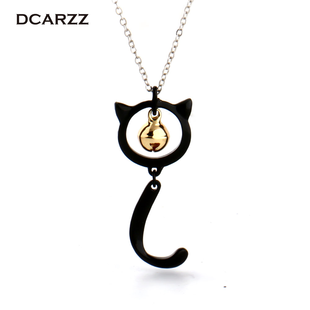Cat Noir Miraculous Ladybug Necklace Pendant with Bell Charm Christmas Cosplay Jewelry for Kids