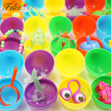 36 PCS Überraschung Eier mit Spielzeug für Kinder Birtdhay Party Ostern Bunny Eier Party Spielzeug Goodies Tasche Füllstoffe Junge Mädchen ei Hunter Spiel