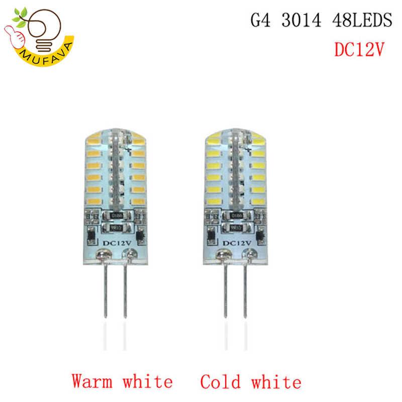 2019 nouveau lampe à LED G4 G9 E14 AC/DC 12 V 220 V 3 W 6 W 9 W COB LED G4 G9 ampoule Dimmable pour les lumières de lustre en cristal