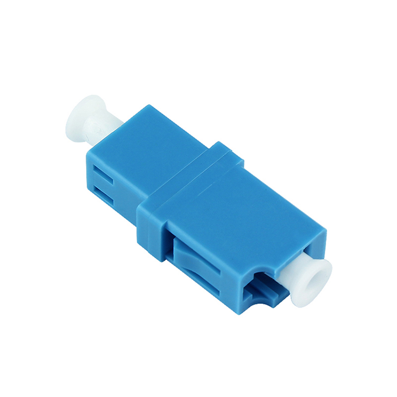 50pcs LC UPC Fiber Optic Adapter Simplex LC Fiber Optic Coupler /Attenuator LC UPC Fiber Flange Connector