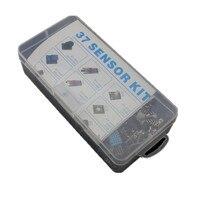 Shippiing livre 37 EM 1 Kit Caixa Sensor para Iniciantes arduino KIT DIY