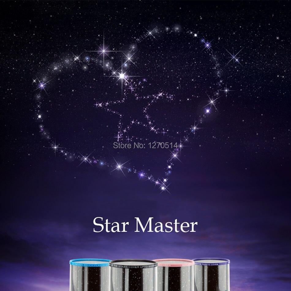 Star Projector lamp LED Blue Light, Star Master Light Twinkle Light, children Christmas gift, New Year gift