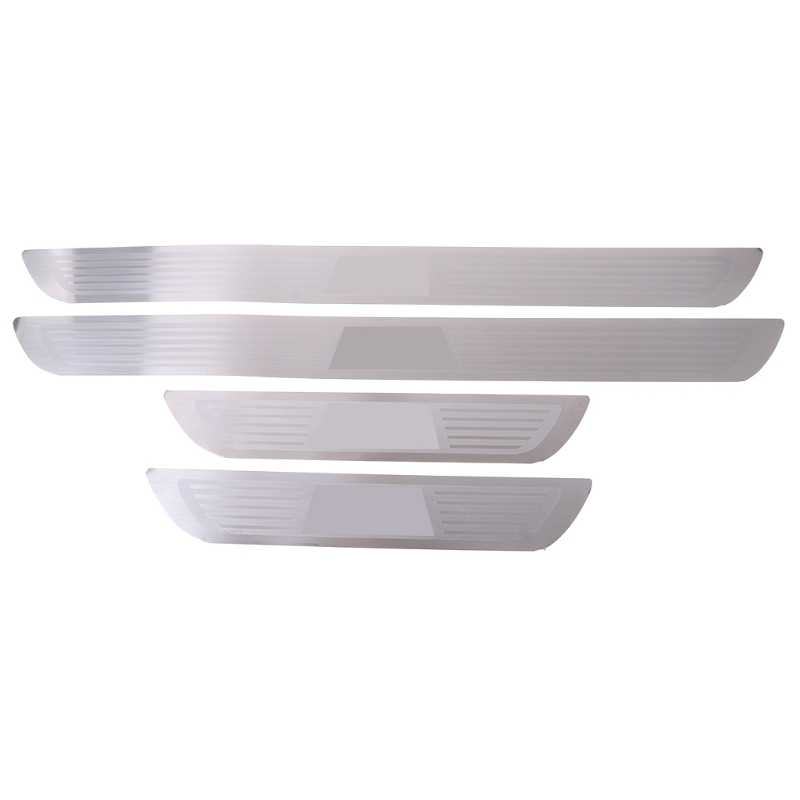 Free delivery Door Sill Scuff Plate Pedal For BMW X1 E84 X3 F25 X5 E70 X6 E71 Series 1 3 5 7