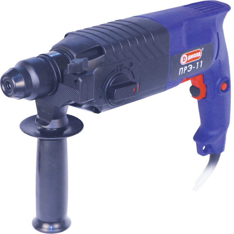 Electric hammer drill Diold ПРЭ-11 (speed from 0 to 1100 rpm from 0 to 4500 beats per minute) electric hammer drill redverg rd rh650 no load speed 1200 rpm 5500 beats per minute