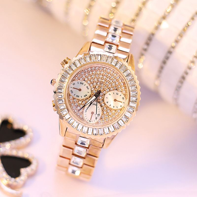 2018 Waterproof Rose Gold Watch Women Quartz Watches Ladies Top Brand Luxury Female Wrist Watch Girl Clock Relogio Feminino top brand luxury waterproof women watches women quartz hours date clock ladies casual wrist watch female silver relogio feminino