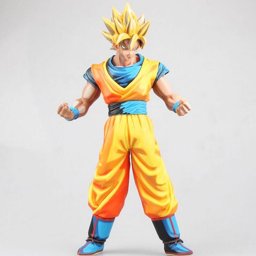 Dessin Anime Dragon Ball Z Super Saiyan Fils Goku Manga Couleur