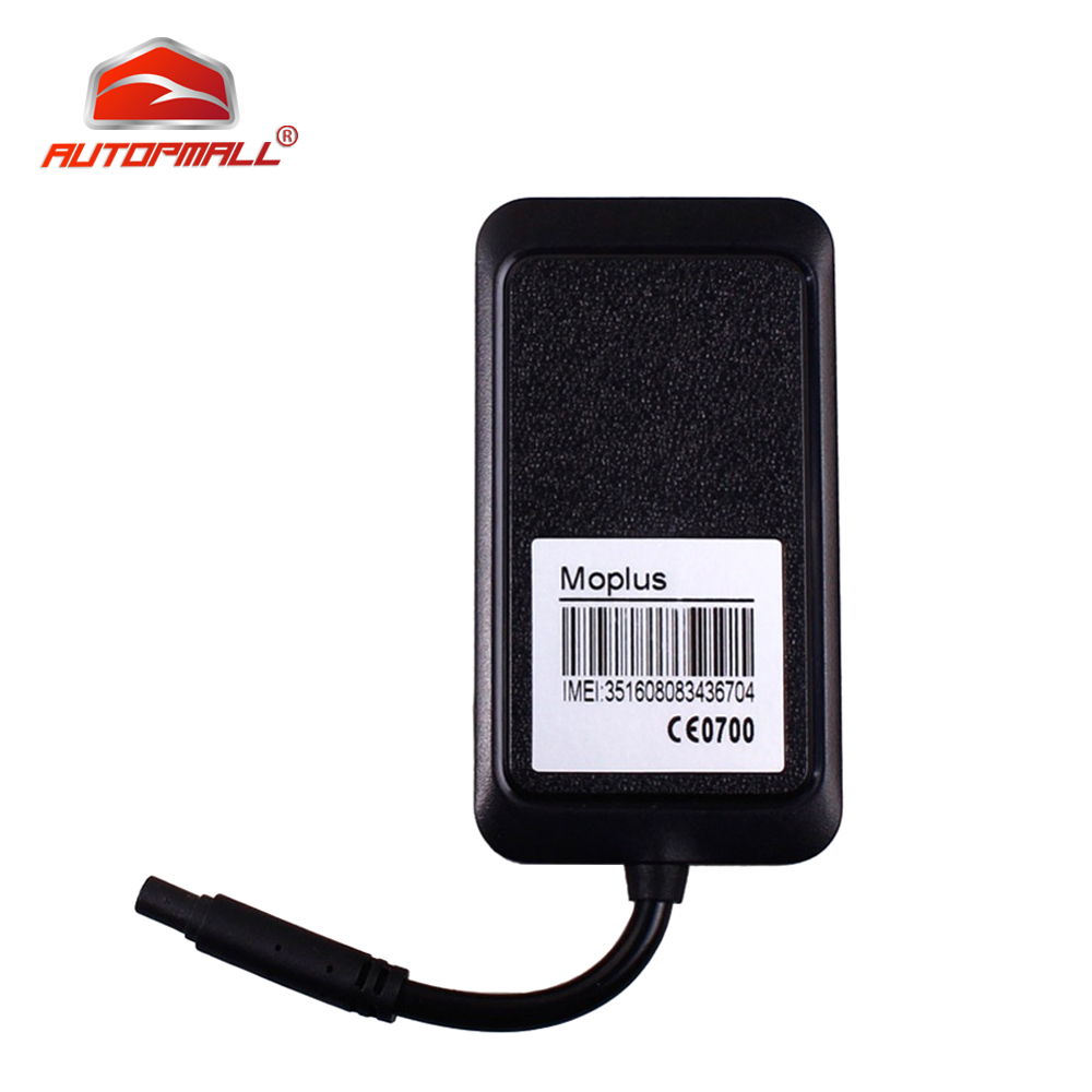 Mini Car GPS Tracker Motorcycle GPS Locator Concox MOPLUS Waterproof Cut Off Oil 9 18VDC Movement