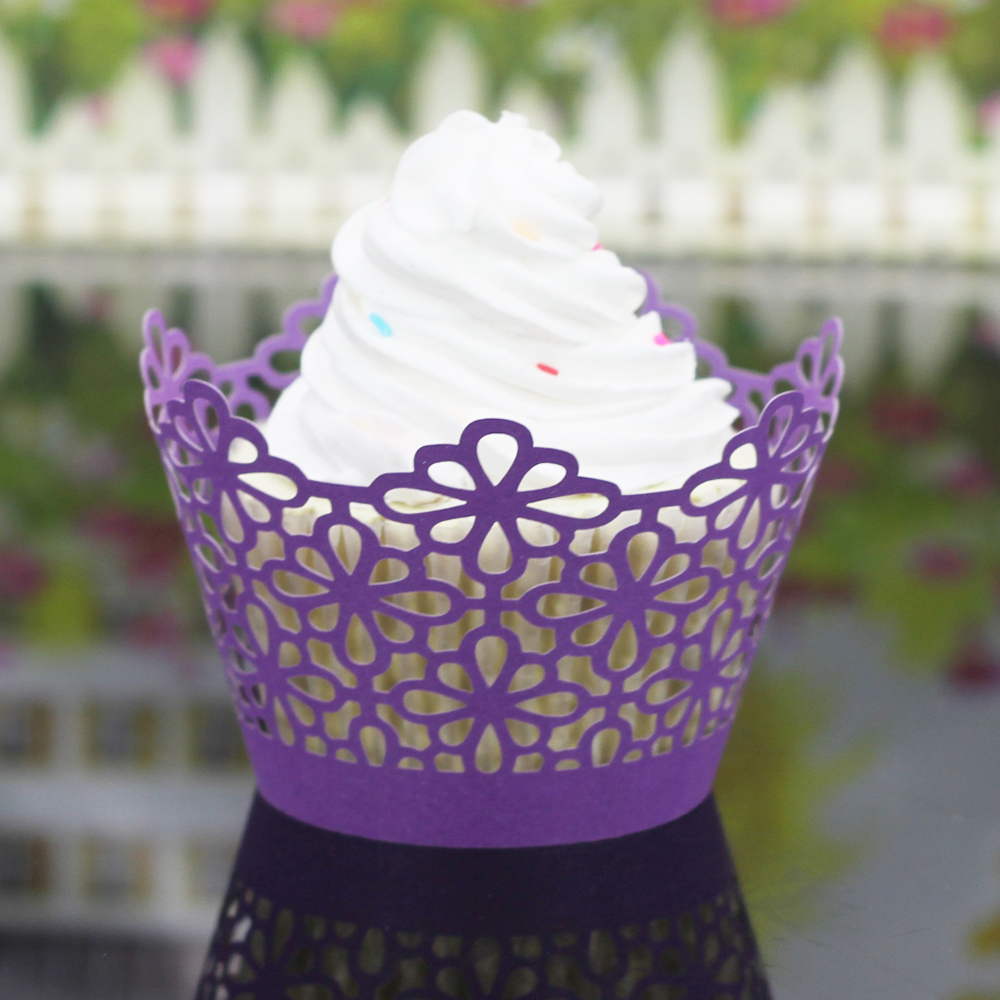 100Pcs Cup cake Paper Grease-proof Paper Cup Cake Liners Baking Muffin Cupcake Cases Cake Mold Decor Tools Kitchen Decor 6ZC26