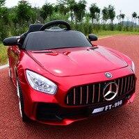 Ездить на автомобиле новые детские 2,4 г дистанционное управление электрический автомобиль четыре колеса двойной привод игрушка для раннег