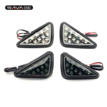 LED Turn Signal Indicator Light For SUZUKI GSXR 750 GSX-R 600 250 1000 Motorcycle Accessories Front Blinker Lamp