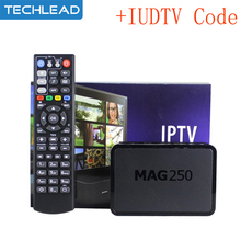 Mag250 TV Box +1 Year IUDTV IPTV Account Sweden French Italy Albanian UK USA Arabic Sports Europe TV code m3u mag 250 IP TV Box(China)