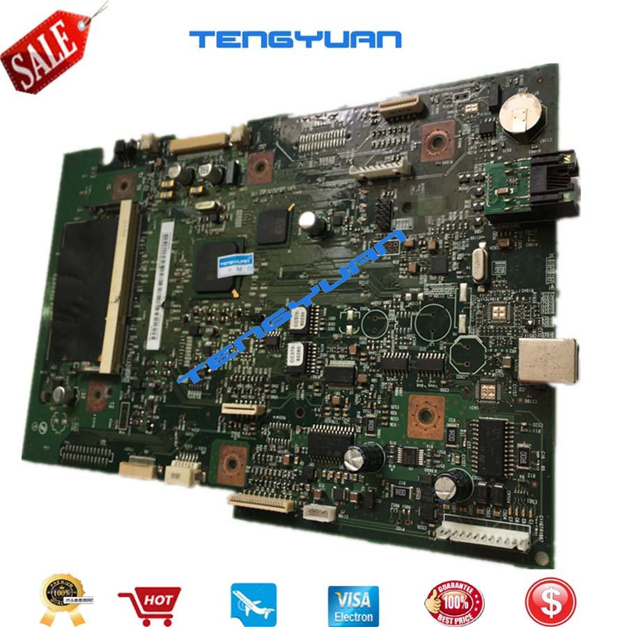 2PCS Original Free shipping 100% Test laser jet For HP2727 M2727 M2727MFP Formatter logic Board CC370-60001 printer part on sale free shipping original new formatter board for hp m1212nf 1213 1216nf 1213nf ce832 60001 good quality printer part on sale