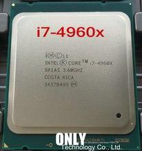 I7 4960X Originele Intel Xeon I7 4960X CPU 3.60GHZ 15MB 22nm LGA2011 I7 4960 X processor 1 jaar garantie