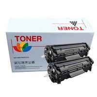 2 Compatible HP Q2612a Toner Cartridge For Hp Laserjet 1010 1012 1015 1018 1020 1022 3010