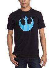 Star Wars Rebel Alliance Symbol Adult Black T-Shirt Free shipping  Harajuku Tops Fashion Classic