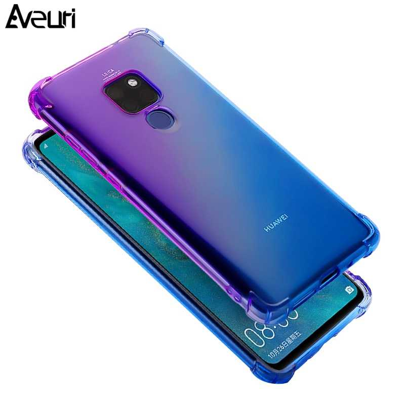 Luxury Phone Case For Huawei Mate 20 Pro 20 Lite 20X P20 Pro P20 Lite Coque Colorful TPU Cover Case For Huawei Honor 7C 8C 8X