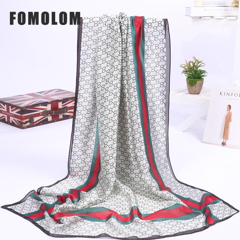 New Design Pattern Print Silk Scarf Shawl Women Scarves Shawls 180*90 Cm Fashion Woman Accessory Wholesale Free Shipping SF01