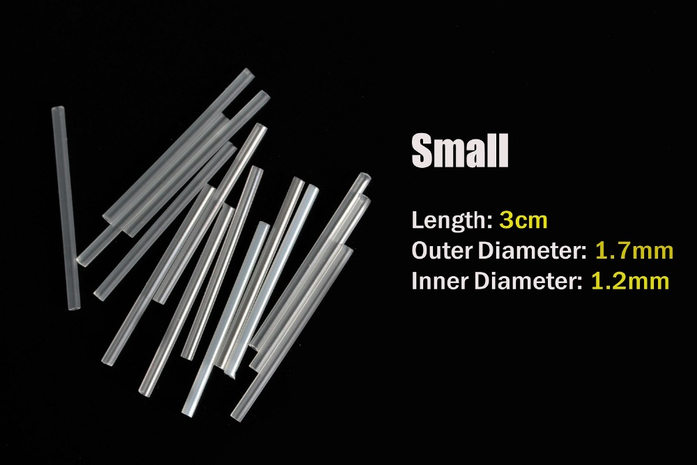 Tigofly 6m 2 tamanhos kit tubo plástico