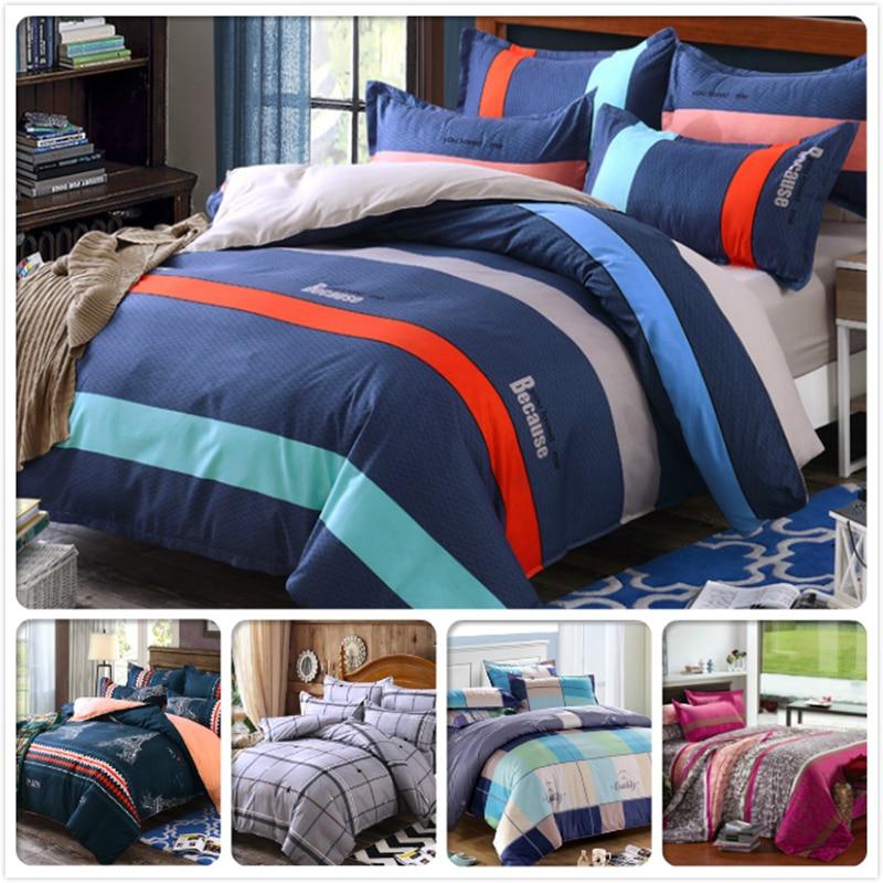 Big Size Full King Queen Double Duvet Cover 3/4 pcs pieces Bedding Set 1.5m 1.8m 2m 2.2m 2.4m Bedsheet Kids Bed Linen 5/6/7 feet