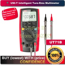 UNI-T UT71B Intelligent Digital Multimeter Tester True RMS LCR AC DC with a USB cable