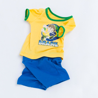 YK Loving Kids Boys Clothing Sets Sport Style Children Suits Clothing Football World Cup Boy Girl