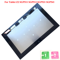 Original LCD Display Touch Screen Digitizer Panel Assembly For Sony Xperia Tablet Z2 SGP511 SGP512 SGP521