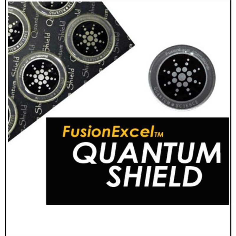 30pcs (5 boxes) Round Scalar Quantum Shield Energy Sticker  Anti Radiation Protection from EMF Fusion Excel cellPhone Sticker sticker