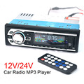 MP3-2127 Car Radio 12V Auto Audio Stereo FM SD MP3 Player AUX USB SD In-Dash 1 DIN Car Electronics Subwoofer with Remote Control