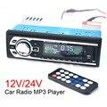 MP3-2127 Rádio Do Carro 12 V Auto de Áudio Estéreo FM SD MP3 Player AUX USB SD In-Dash 1 DIN Eletrônica Do Carro Subwoofer com Controle Remoto controle