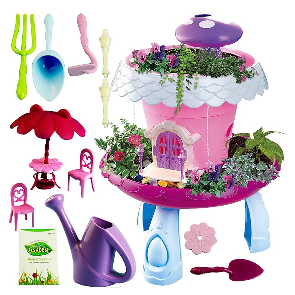Jouets artisanaux créatifs à la main plantant des plantes en pot jouets de bricolage pour enfants filles garçons apprenant des jouets assemblés jouets éducatifs pour enfants