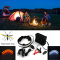Kelvin impermeável lâmpada de iluminação LED 5050 acampamento ao ar livre barraca de Camping lanterna regulável LED flexível impermeável fita