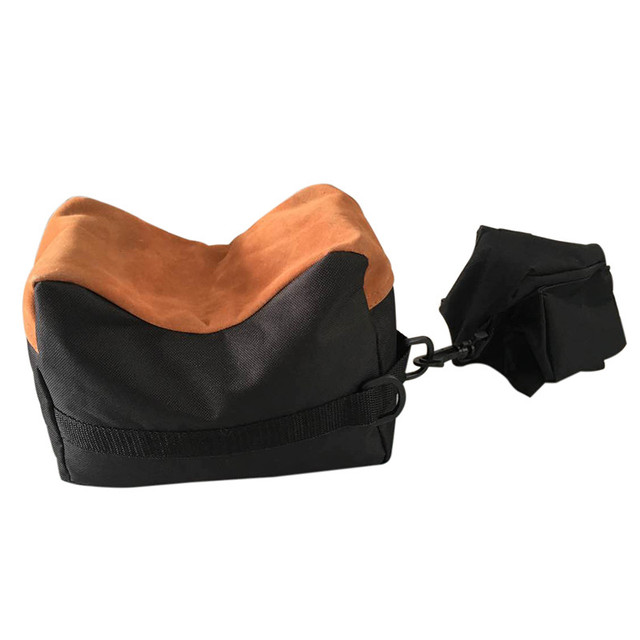 Shooting Bag Set Outdoor Portable Hunting Gun Large Front Rear Bench Unfilled Rest Bags Range Target Stand Support Rifle Sandbag