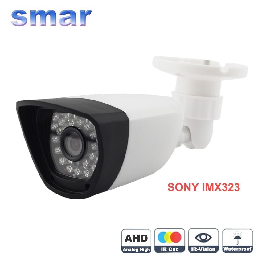 imágenes para AHDH 1080 P AHD Cámara de Ultra Baja Iluminación 1/2. 8 SONY IMX323 Sensor Impermeable Al Aire Libre Cámara de Seguridad IR Cut filtro Recomienda