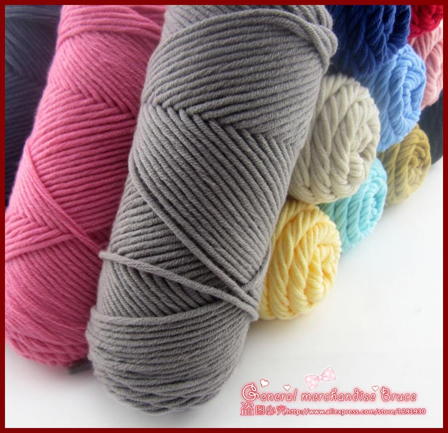 100g Wholesale Lots Soft Bamboo Crochet Cotton Knitting