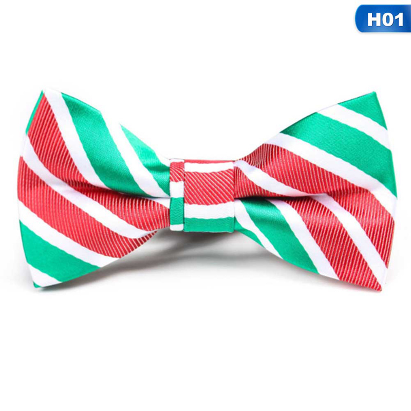 New Christmas Gifts For Men Bow Tie Men's Green Christmas