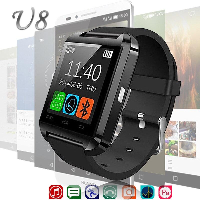 Smartwatch Bluetooth Sport Smart Watch U8 For Android Phone Clock Wearable Device Watch Men Women GT08 DZ09 reloj inteligente