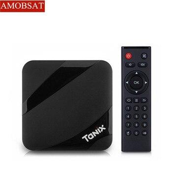 Tanix TX3 MAX 2GB 16GB Android 9.0 TV BOX Amlogic S905W Quad Core BT4.1 H.265 4K 30tps 2.4GHz WiFi PlayStore pk Mi boxes