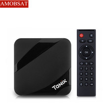 Tanix TX3 MAX 2 GB 16 GB Android 7,1 ТВ BOX Amlogic S905W 4 ядра BT4.1 H.265 4 K 30tps 2,4 ГГц Wi-Fi PlayStore pk Ми коробки