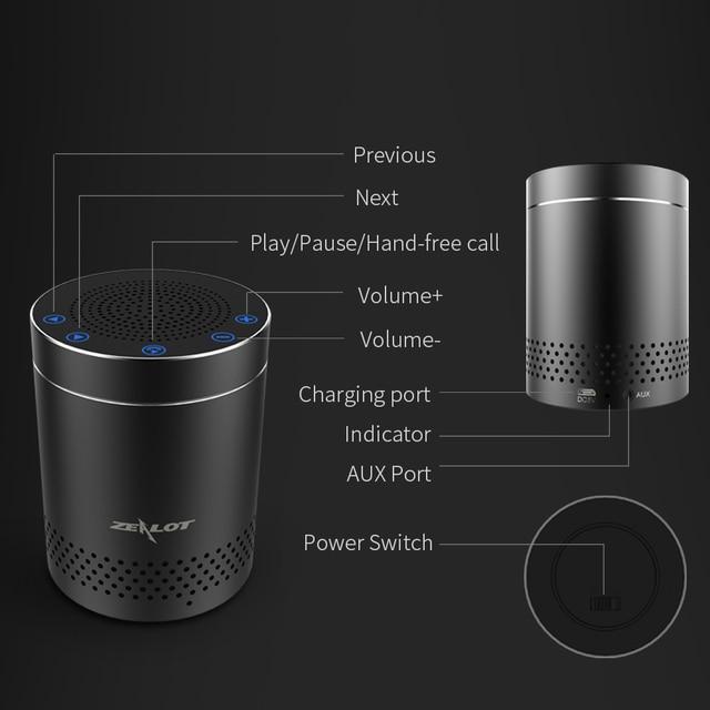 Bluetooth Speaker Aluminum Alloy 3