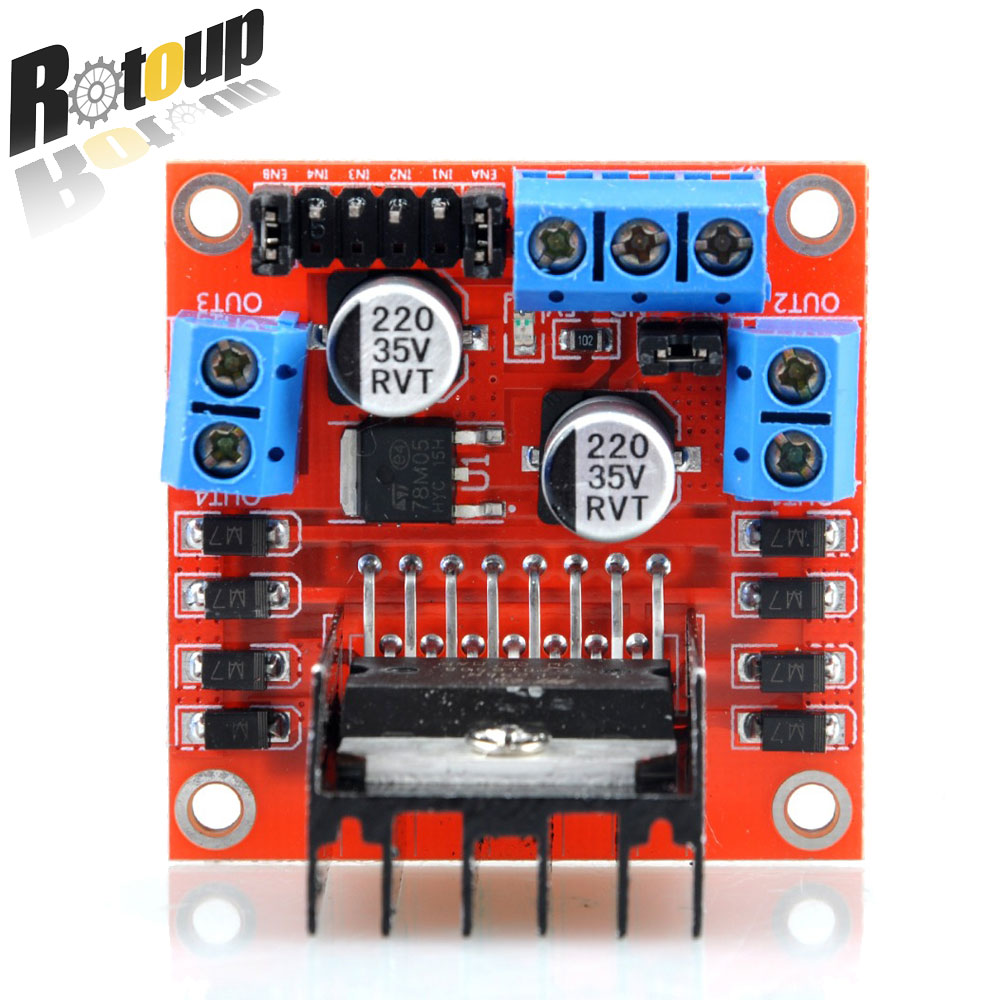 Bridge Dc Stepper Motor Controller Module For Arduino Oddwires