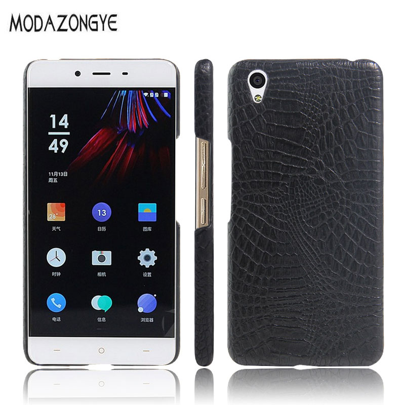 OnePlus X Case OnePlusX Case 5.0 inch Luxury PU Leather Hard Plastic Back Cover Phone Case For OnePlus X One Plus X E1001