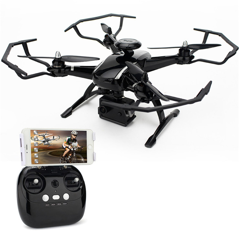 AOSENMA CG035 Double GPS de Positionnement Optique WIFI FPV Racing Quadcopter 1080 p HD Caméra RC Drone VS Bayangtoys X21 X16